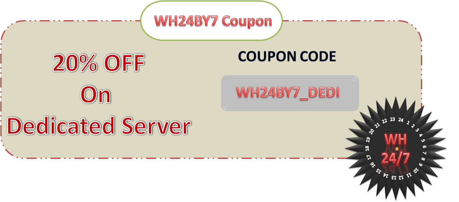 Web-Hosting-24By7-Dedicated-Coupon-Code